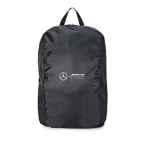 Mercedes-AMG Petronas - Offizielle Formel 1 Merchandise 2021 Kollektion - Damen und Herren - Packable Backpack - Rucksack - Schwarz - One Size