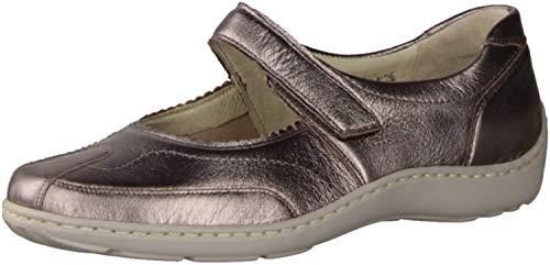 Waldläufer , Chaussures de Ville à Lacets pour Femme Multicolore Multicolore - Beige - Sand Weite H, 8 EU