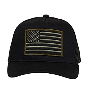Knuckleheads Clothing Baby Boy Infant Trucker Sun Hat Toddler Mesh Baseball Cap USA Green XS 43 cm 6 to 12 Months