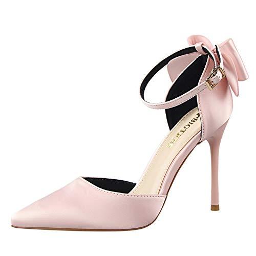 Mujer Moda Zapatos De Tacón de Aguja Puntiagudo Punta Cerrada Diseño Elegante Modo para Fiesta y Boda para 10 CM