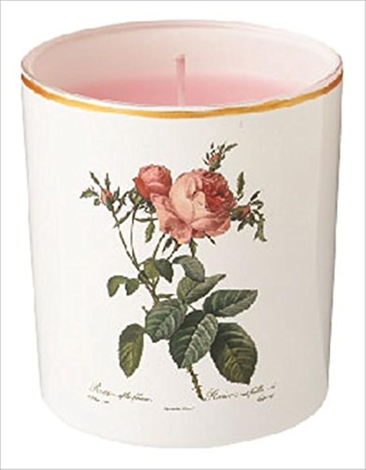 のりアンペア倒錯カメヤマキャンドル(kameyama candle) ルドゥーテ グラスキャンドル 「 ピュアローズ 」