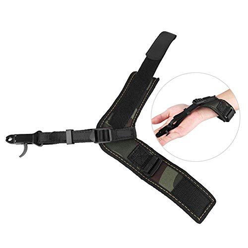 Fantastic Prices! Dilwe Archery Release Aid, Heavy-Duty Bow Trigger Shooting Hunting Arrows Force fo...