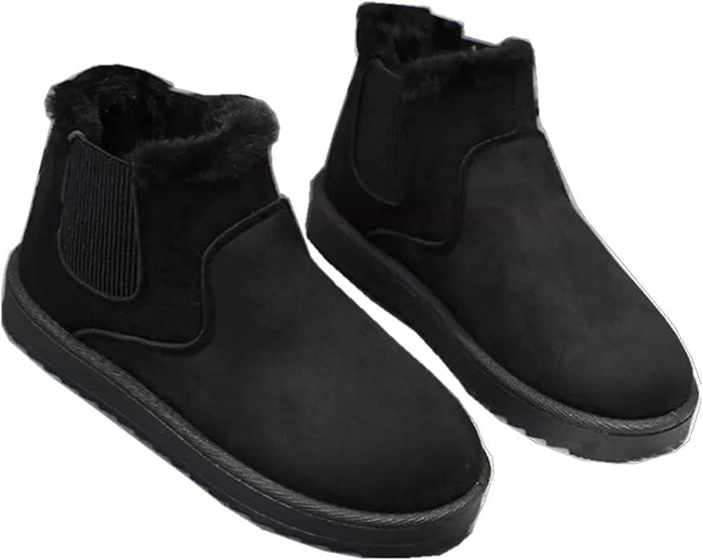 Janveny Womens Faux Fur Ba 国内正規総代理店アイテム Snow Boots 40%OFFの激安セール Headband
