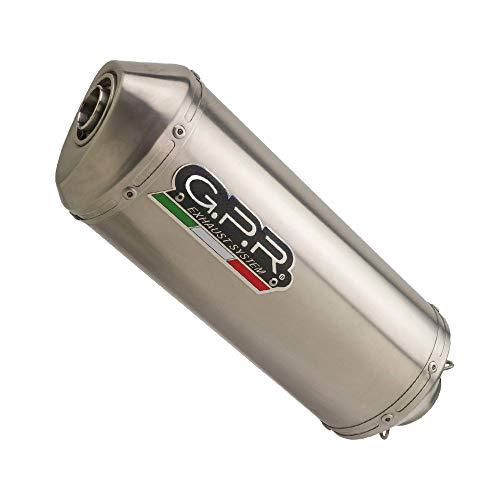 SCARICO GPR EXHAUST SYSTEM COMPATIBILE CON F 650 ST 1993/2002 TERMINALE SCARICO OMOLOG. CON RACCORDO SATINOX