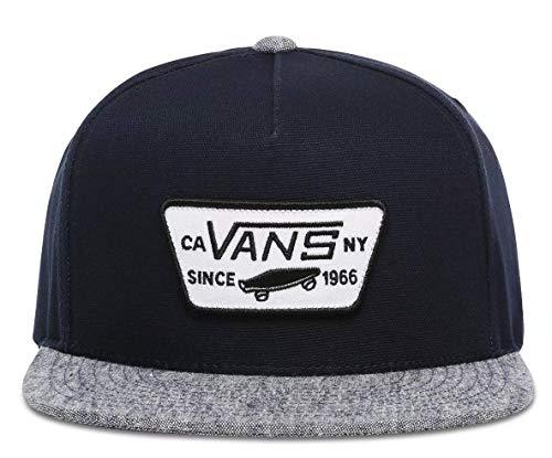 Vans Full Patch Snapback Cap - Dress Blues/Navy - One Size