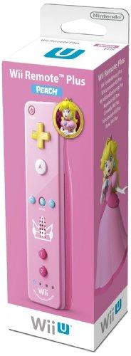 Nintendo Wii U und Wii - Remote Plus, pinkes Peach Design