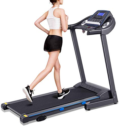 MMDXLO Treadmills for Home Foldable 150kg Electric Folding Treadmill Motorized Running...