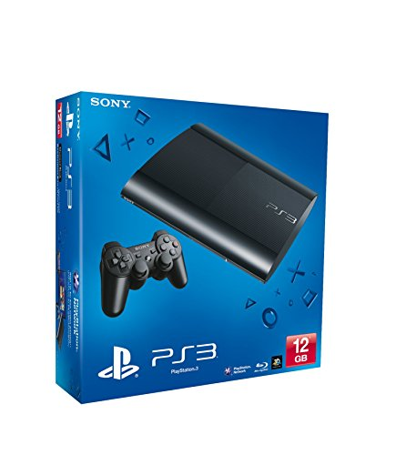 Console PS3 12 Gb black R Chassis [import anglais]
