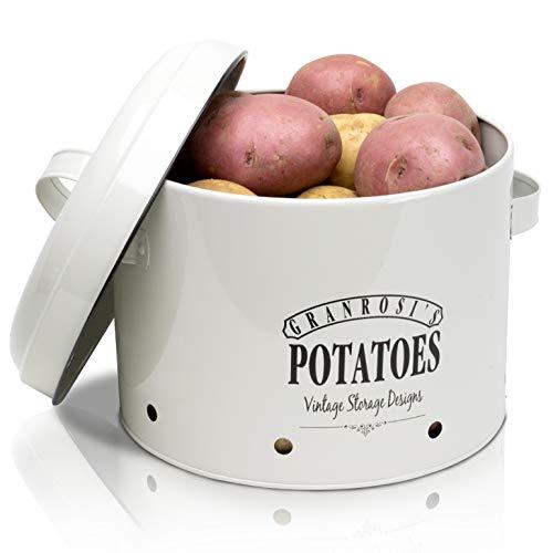 GranRosi patatas olla –Patatero con un elegante diseño Vintage de los años 40