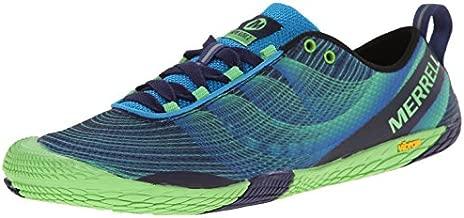 Merrell Men's Vapor Glove 2 Trail Running Shoe, Racer Blue/Bright Green, 10 M US