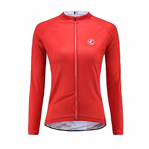 Uglyfrog Bike Wear Radsport Bekleidung Damen Langarm Trikots & Shirts Herbst Winter Style with Fleece