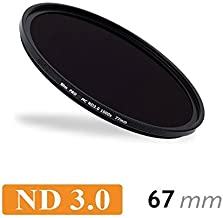 CameraPlus Professional 67mm Slim S-PRO1 Neutral Density 3 0 Filter Stops free Aluminium filers Caps