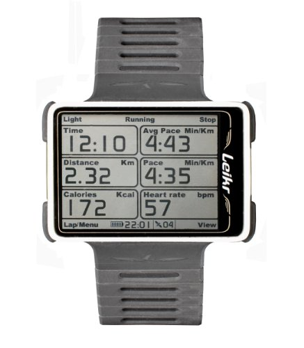 Leikr LKR1 GPS Sport Watch (White)