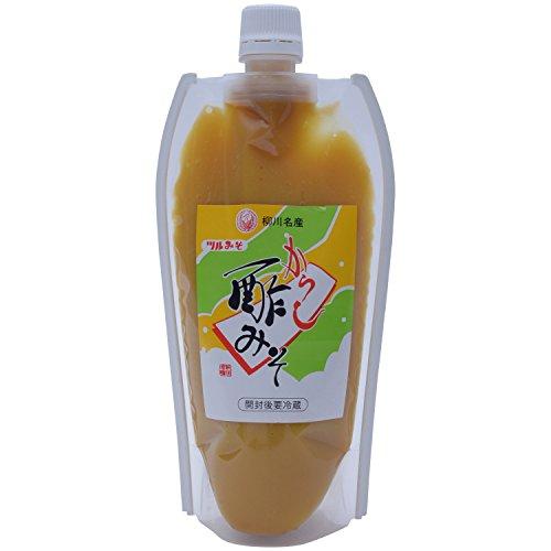 鶴味噌醸造 からし酢みそ チューブ 360g