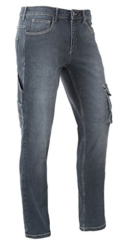 Brams Paris Arbeitshosen Jeans David R12 Stretch Jeans