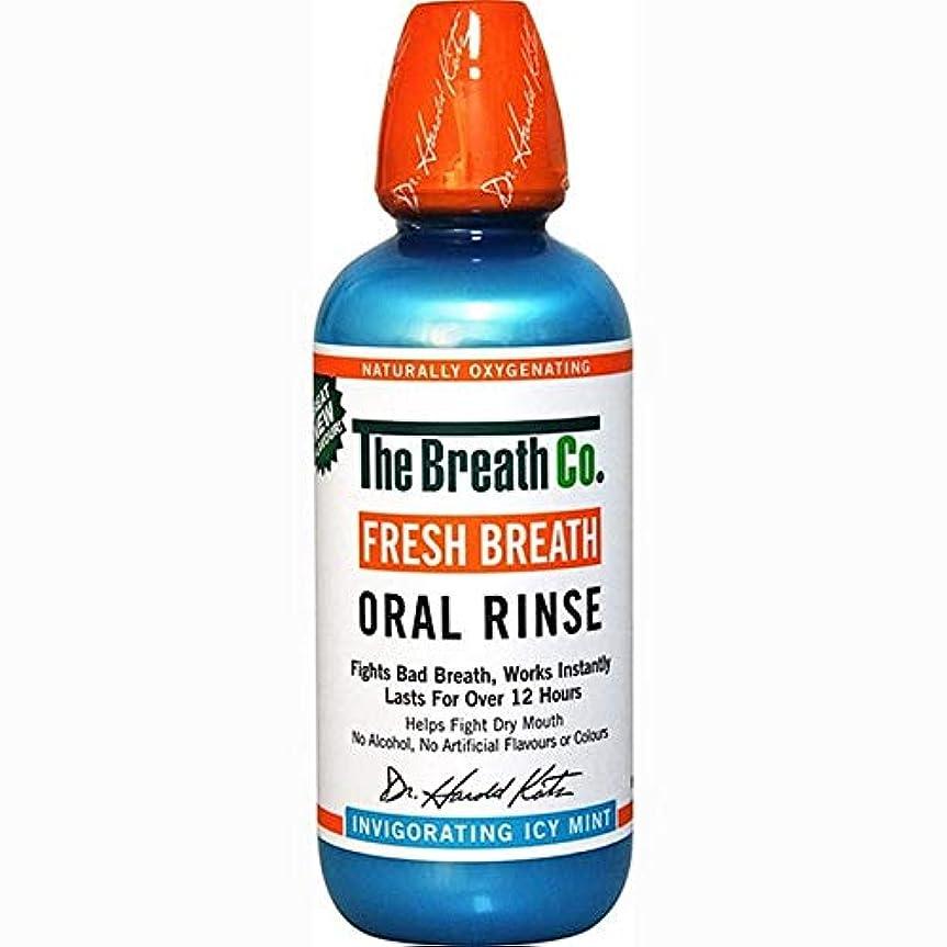 リースディスコクリープ[The Breath Co] 息のCo新鮮な息口腔リンス氷のミント500ミリリットル - The Breath Co Fresh Breath Oral Rinse Icy Mint 500ml [並行輸入品]