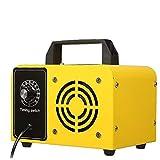 NIDONE Máquina de ozono Purificador de Aire Máquina de ozono Desodorizador de Aire Industrial para el Control de la Parada de Olor Amarillo 16g