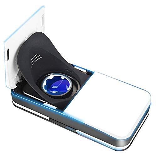 WWDKF Juego De Realidad Virtual De Alta Definición Inteligente Panorámico 3D Cinema VR, Gafas De Realidad Virtual Plegables Adecuadas para Juegos Y Películas