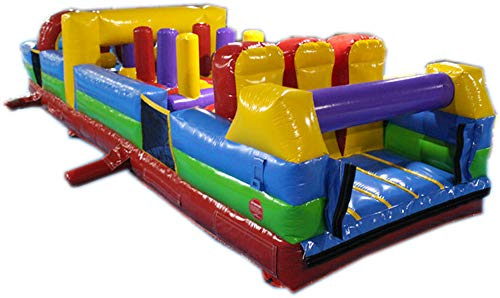 Commercial Grade 30 Foot Indoor Obstacle Course Bounce House Inflatable