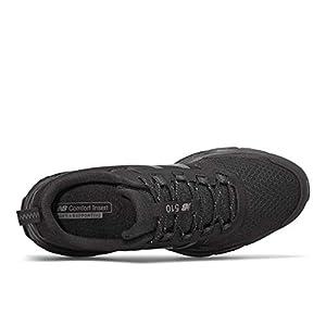 New Balance Men's 510 V5 Trail Running Shoe, Black/Castlerock, 11 M US