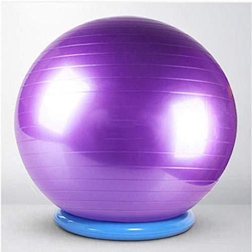 YSCYLY Yoga Balls,Bola de Masaje Engrosada 45cm / 55cm,Unisex Adulto