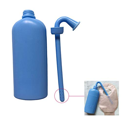 XIHAA Colostomy Bag Cleaning Tool, Ostomy Bag Cleaning Bottle Open Bag Cleaner for All Ostomy Bags for Permanent Use