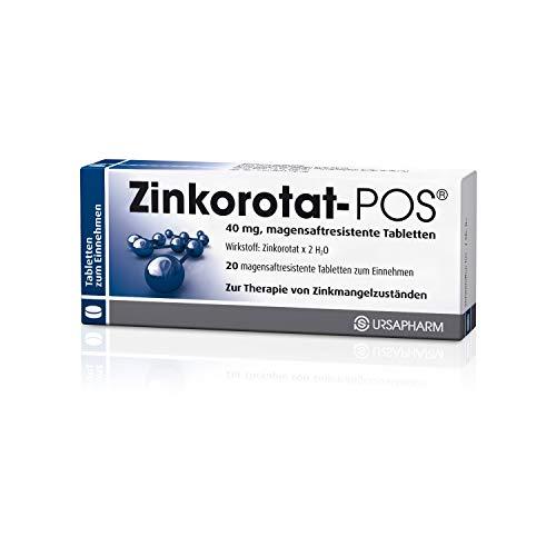 Zinkorotat-POS, 20 St. magensaftresistente Tabletten