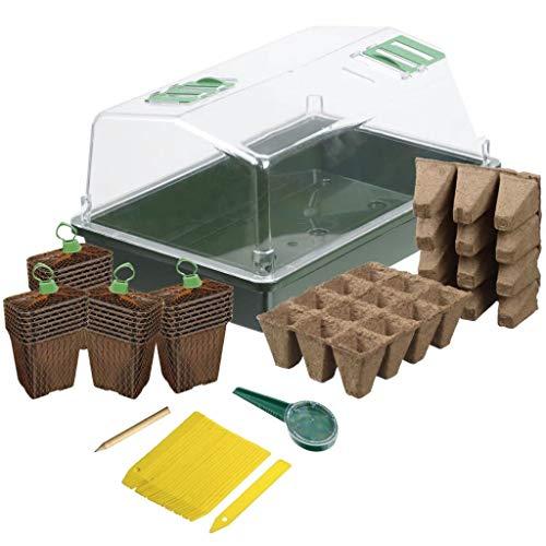 Kit mini-serre de culture pour semis et bouturage 37,5cm