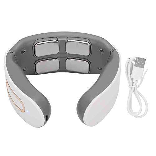 Brrnoo Masseur de Cou USB sans Fil, réglage 9 Vitesses 4 têtes...