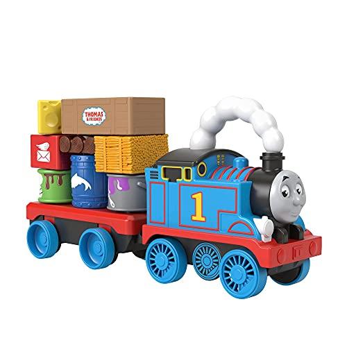 Fisher-Price- Stack & Wobble Train (Mattel GWX07)