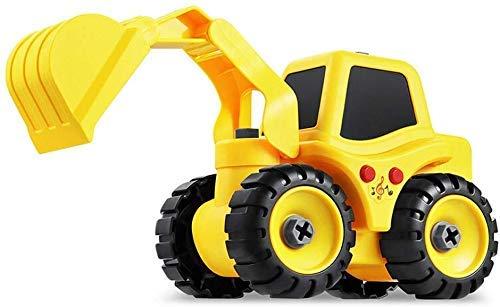 Kinderspeelgoed Toy Construction Set, uit elkaar te halen Truck Construction Toys Kit met Boormachine DIY Montage Toy realistische geluiden en lampjes Best Gift educatief speelgoed Tool for Kids Age 3