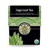 Buddha Teas Organic Sage Leaf Tea | 18 Tea Bags