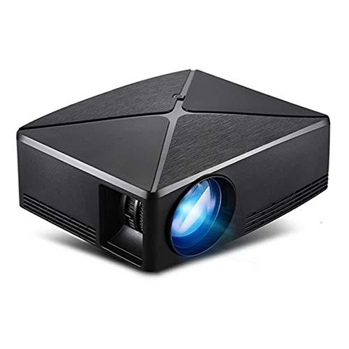 SHUNFENG-EU Proyector HD Mini, resolución de 1280x720, Android WiFi Pro Modor, proyector HD portátil LED para el Cine en casa