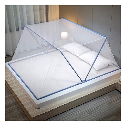 Meet World Faltbares Bodenloses Moskitonetz, Tragbares Moskitonetz, Einfaches Camping, Erwachsenenbett/Babybett/Sofa/Freie Installation Eines Outdoor-Insektennetzes,5,100*190*80cm