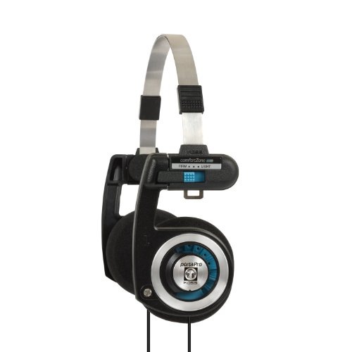 [Headphones] Koss Porta Pro On Ear Headphones with Case, Black / Silver - $34.99 ($49.99 - $15)
