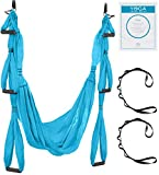 UpCircleSeven Aerial Yoga Swing Set - Yoga Hammock/Sling Kit +...