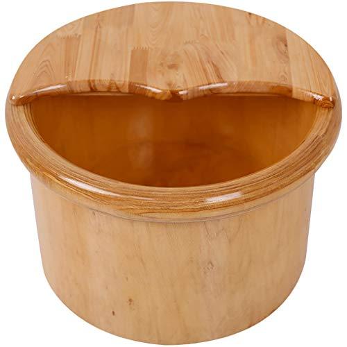 Pure Planken voetwassing Barrel voetenbad Barrel Dik massief houten voet gezondheid wasemmer Houten huishouden duurzame sanitaire voet emmer