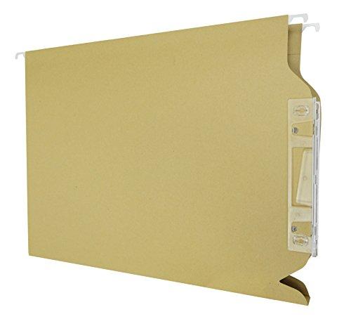 Elba Fade - Caja de 25 carpetas colgantes para armario, 20 mm