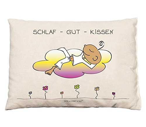 DER KLEINE YOGI: Zirbenkissen - Schlaf-Gut-Kissen