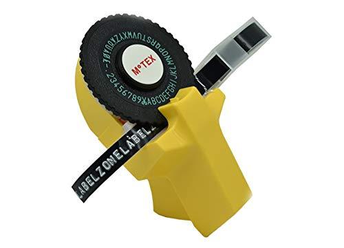 Etikettendrucker handgerät Kleines Modell Etikettendrucker Label Writer Embosser Heimprägedrucker Mini Manuelle Etikettendruck-Schreibmaschine Beschriftungsmaschine Schreibmaschine