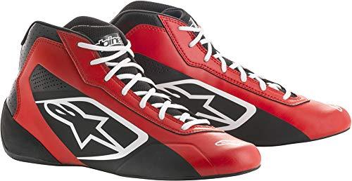 Alpinestars Tech 1-K Start Karting Shoes (Size: 10, Black/White)