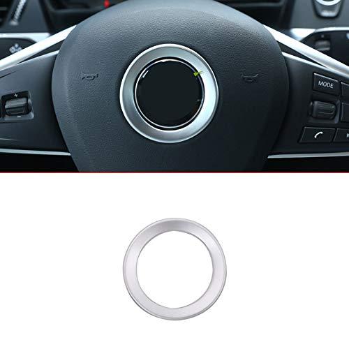 Voor BMW X1 F48 2016 2017 ABS ABS Chrome Stuurwiel Decoratie Ring Trim Auto-accessoires Stickers Interieurlijsten