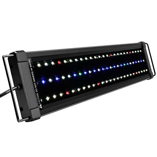 NICREW ClassicLED Plus Ho Éclairage Aquarium, Rampe LED Étanche à Spectre Complet pour Aquarium d'eau Douce, 53-75 cm, 24 W, 1030 LM
