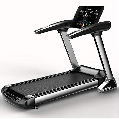 Owenyang Cinta de Correr Cinta de Correr Plegable, 1.0-12KM / H Pantalla LCD, Corta Correr Correr máquina Que Ejecuta Cintas de Correr (Color : Negro, tamaño : 148x65x125cm)