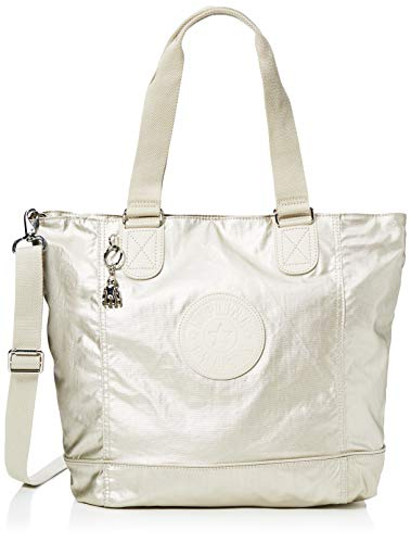 Kipling Damen Shopper C Tote Gold (Cloud Metal)