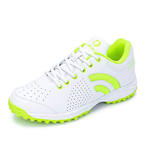 LEOCI Rubber Stud Golf Shoes Phylon Cushion Cricket Shoes Hockey Shoes