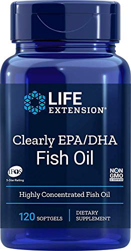 Life Extension Claramente Epa/Dha - 120 Cápsulas Blandas 200 g