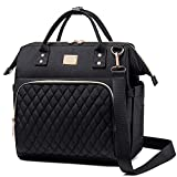 Lunch Bags for Women Lunch Box Insulated Lunch Box for Women Lunch Tote Bag Leakproof Lunch Bag Thermal Cooler Bag with Adjustable Shoulder Strap Adults Lunch Bag Work Lunch Boxes(Black)
