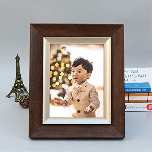 YKDDII Fotolijsten Moderne Stijl Familie Fotolijsten Desk&tafel Ornamenten Bruiloft Cadeau Fotolijst Voor Home Decor 5/6/7/8/10 Inch Frame Klassieke Mode Multifunctionele Fotolijst
