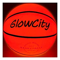 OFFICIAL LIGHT UP BASKETBALL: Our Ball Uses Two Hi-Bright LEDS Rather than One LED. This allows the entire ball to illuminate with fire like Glow. IMPACT ACTIVATED: works while playing with it, Entire Ball Illuminates from the inside creating a reall...